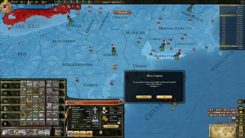 Screenshot 3 - Europa Universalis III Chronicles