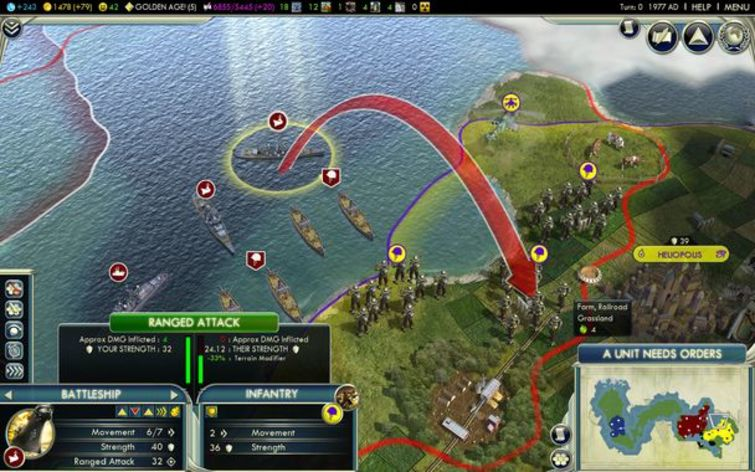 Screenshot 3 - Sid Meier's Civilization V: Game of the Year