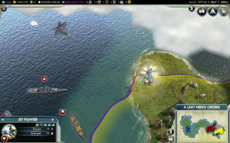 Screenshot 2 - Sid Meier's Civilization V: Game of the Year