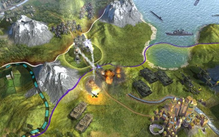 Screenshot 5 - Sid Meier's Civilization V: Game of the Year