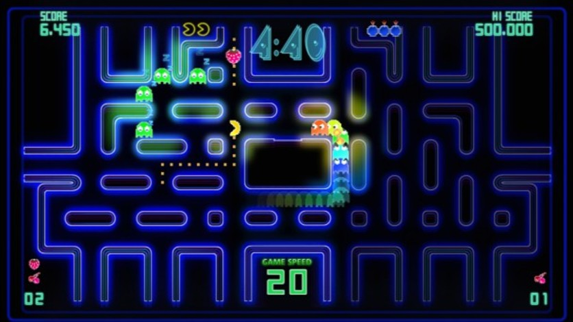 Screenshot 1 - Pac-Man Championship Edition DX+: Mountain Course