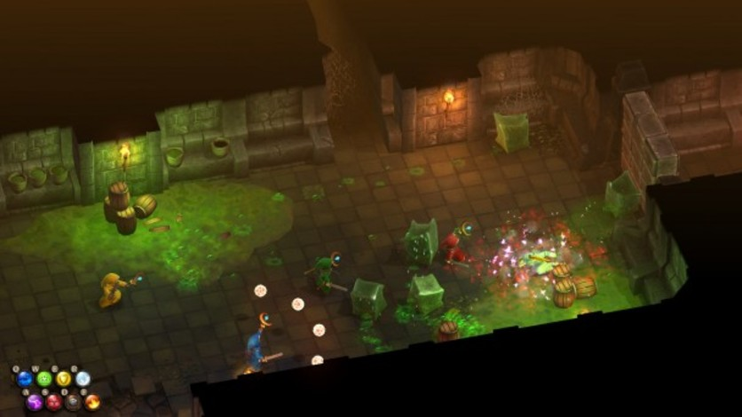 Screenshot 1 - Magicka: Dungeons & Daemons