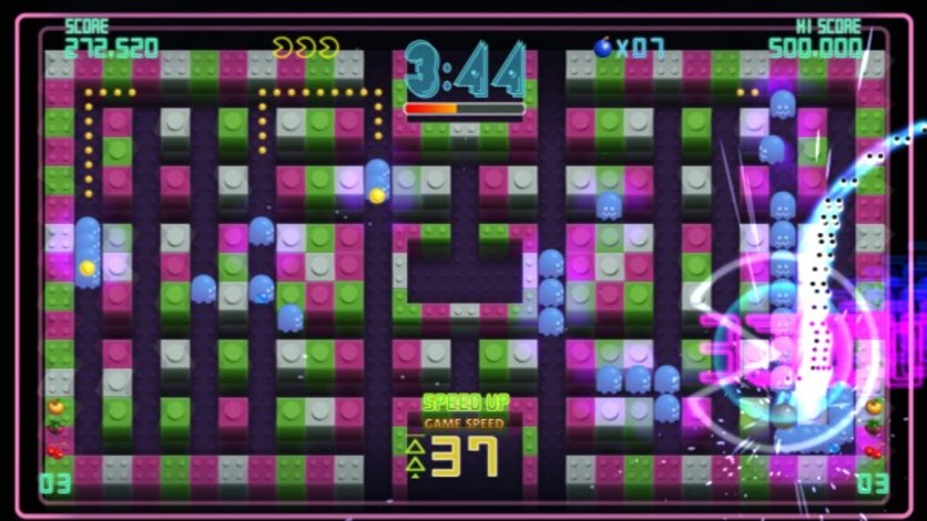 Screenshot 1 - Pac-Man Championship Edition DX+: Big Eater Course