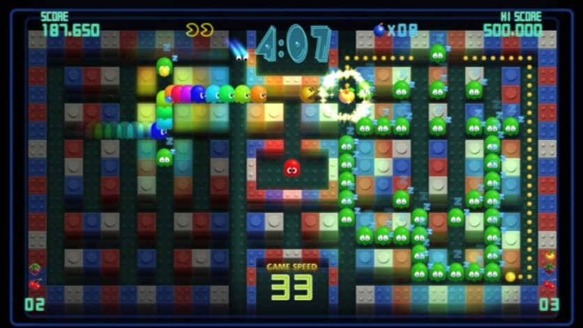 Screenshot 3 - Pac-Man Championship Edition DX+: Big Eater Course