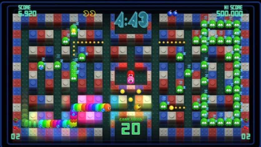Screenshot 4 - Pac-Man Championship Edition DX+: Big Eater Course
