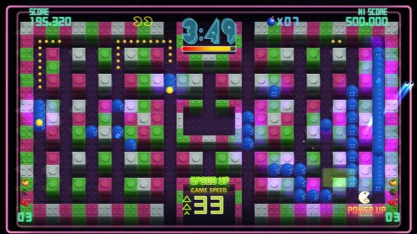 Screenshot 2 - Pac-Man Championship Edition DX+: Big Eater Course
