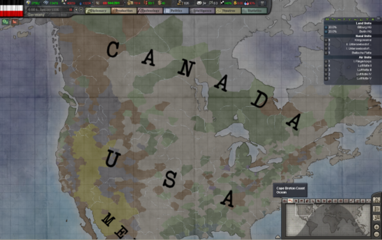 Screenshot 2 - Hearts of Iron III Collection