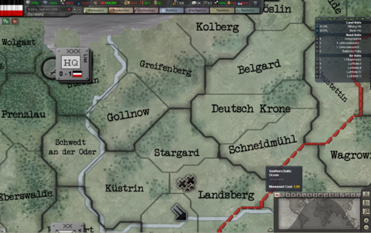 Screenshot 6 - Hearts of Iron III Collection