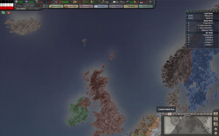 Screenshot 4 - Hearts of Iron III Collection