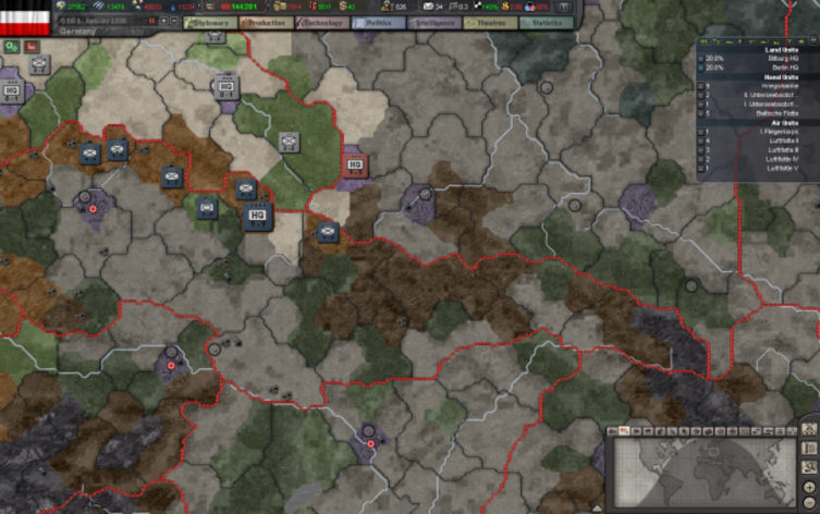Screenshot 5 - Hearts of Iron III Collection
