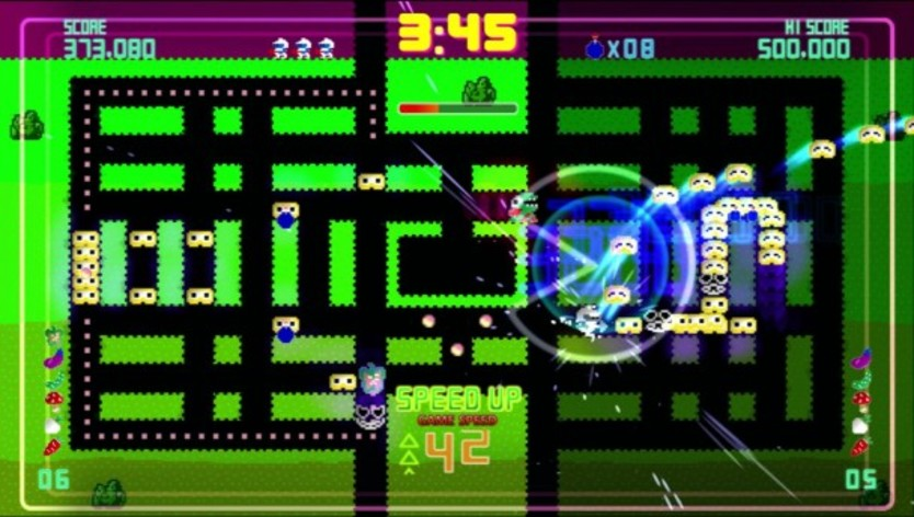 Screenshot 4 - Pac-Man Championship Edition DX+: Dig Dug Skin