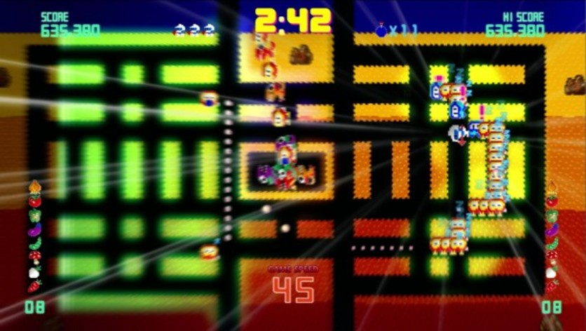 Screenshot 3 - Pac-Man Championship Edition DX+: Dig Dug Skin