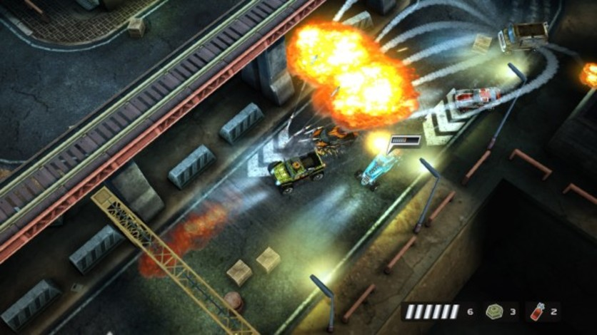 Screenshot 2 - Death Rally