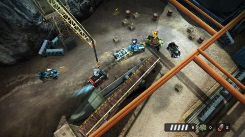Screenshot 5 - Death Rally