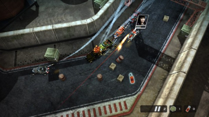 Screenshot 3 - Death Rally