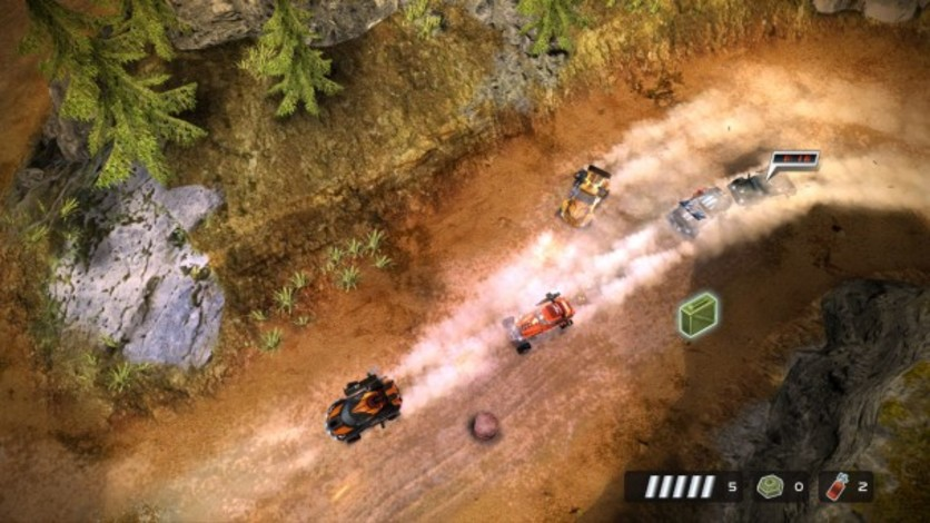 Screenshot 4 - Death Rally
