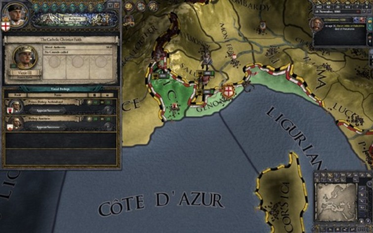 Screenshot 2 - Crusader Kings II: The Republic