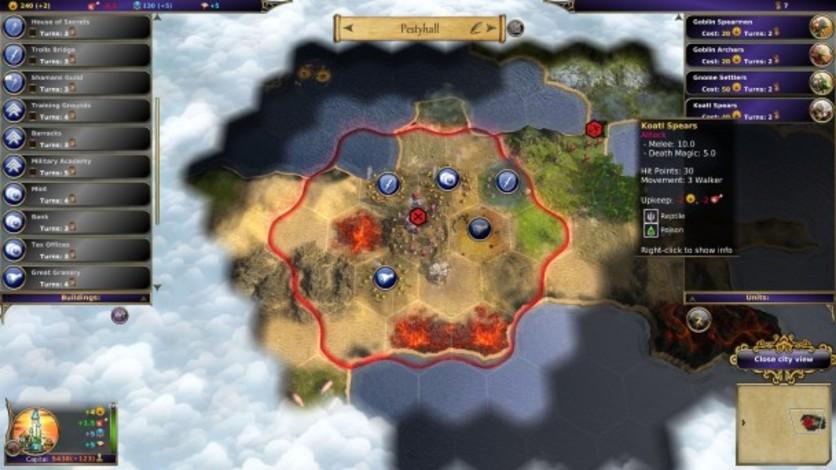 Screenshot 2 - Warlock: Master of the Arcane - Power of the Serpent