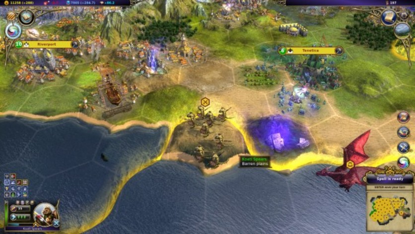 Screenshot 5 - Warlock: Master of the Arcane - Power of the Serpent
