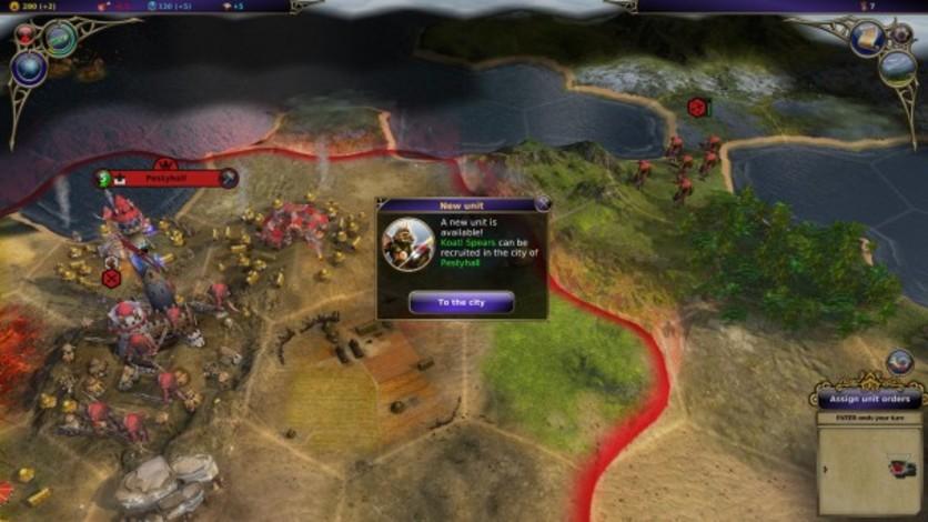 Screenshot 1 - Warlock: Master of the Arcane - Power of the Serpent