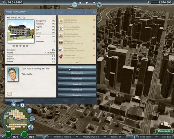 Screenshot 3 - Deluxe Hotel Imperium