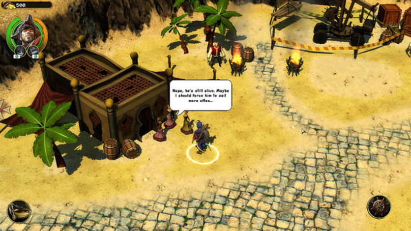 Screenshot 3 - Pirates of Black Cove