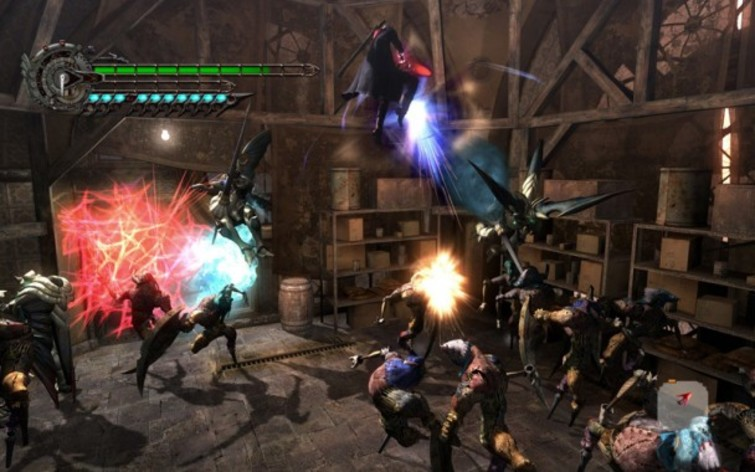Screenshot 3 - Devil May Cry 4
