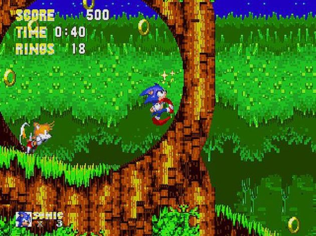Screenshot 1 - Sonic 3 and Knuckles