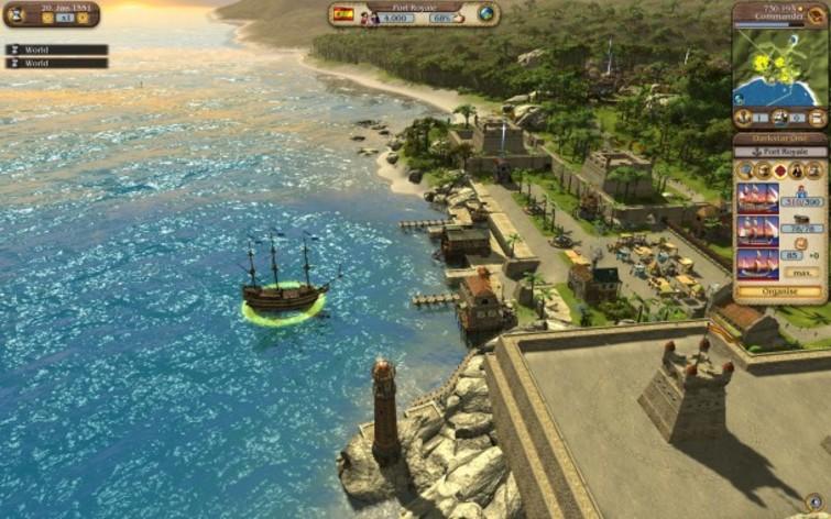 Screenshot 3 - Port Royale 3 GOLD