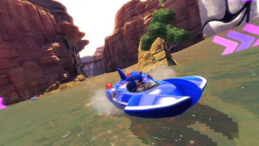 Screenshot 3 - Sonic and SEGA All-Stars Racing Transformed