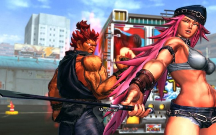 Screenshot 3 - Street Fighter X Tekken