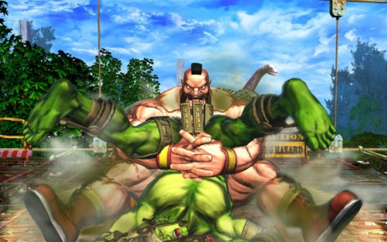 Screenshot 2 - Street Fighter X Tekken