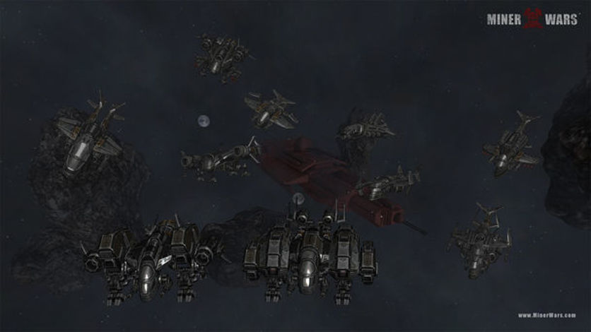 Screenshot 2 - Miner Wars 2081