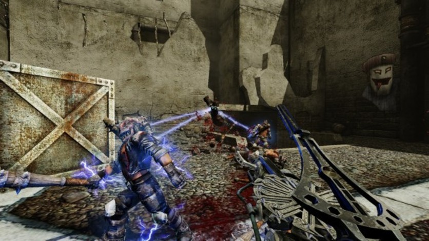 Screenshot 1 - Painkiller Hell & Damnation: Full Metal Rocket