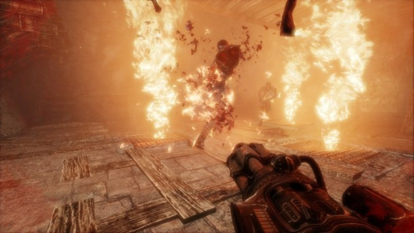 Screenshot 4 - Painkiller Hell & Damnation: Full Metal Rocket