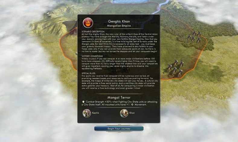 Screenshot 2 - Sid Meier's Civilization V: Mongols