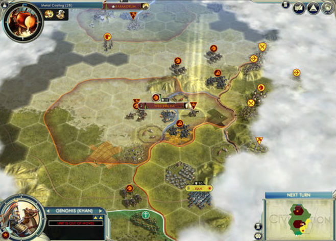 Screenshot 1 - Sid Meier's Civilization V: Mongols