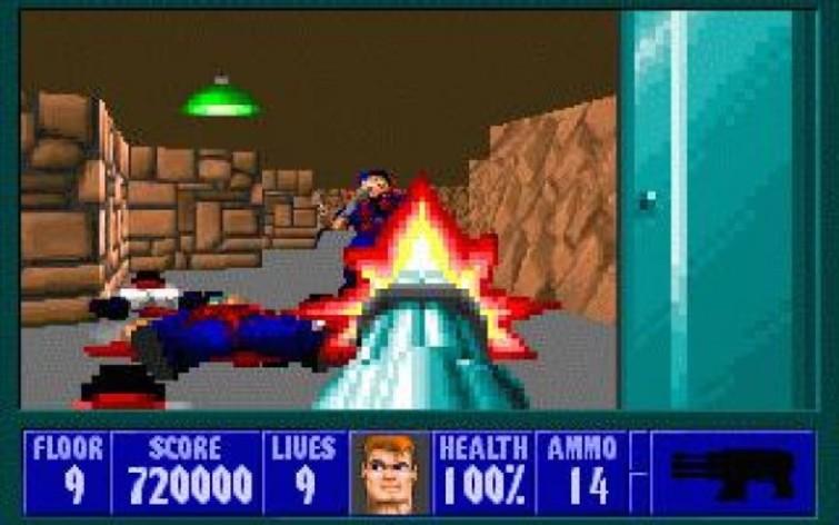 Screenshot 1 - Wolfenstein 3D