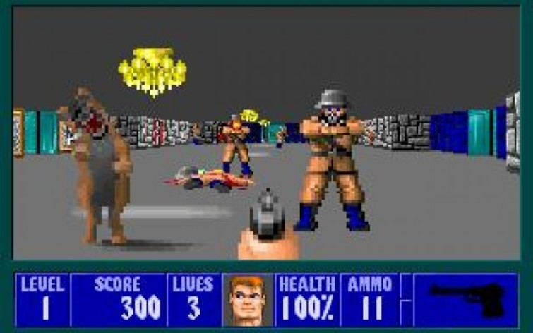 Screenshot 2 - Wolfenstein 3D