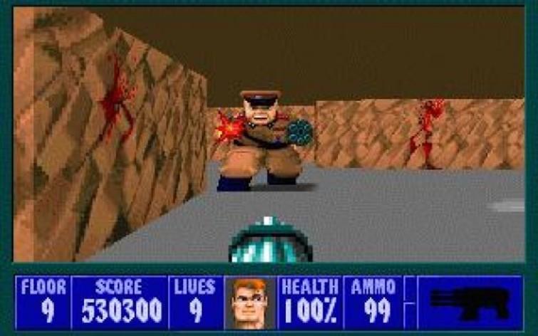 Screenshot 3 - Wolfenstein 3D
