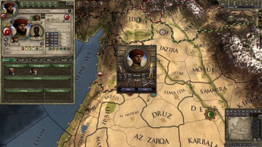 Screenshot 8 - Crusader Kings II: Customization Pack
