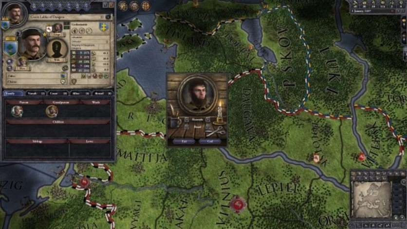 Screenshot 1 - Crusader Kings II: Customization Pack