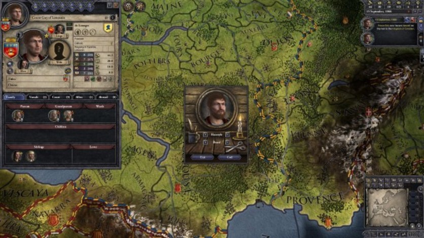Screenshot 7 - Crusader Kings II: Customization Pack