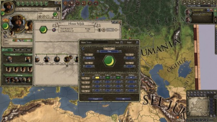 Screenshot 10 - Crusader Kings II: Customization Pack