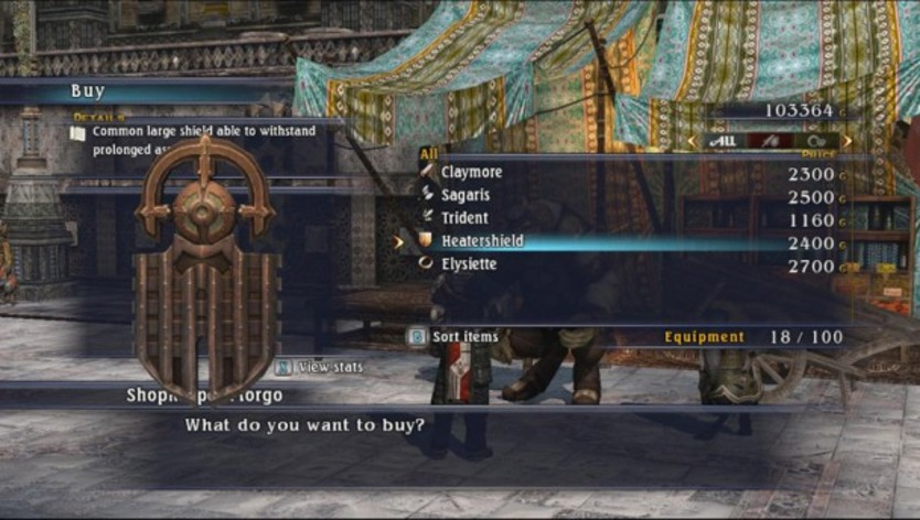 Screenshot 4 - The Last Remnant
