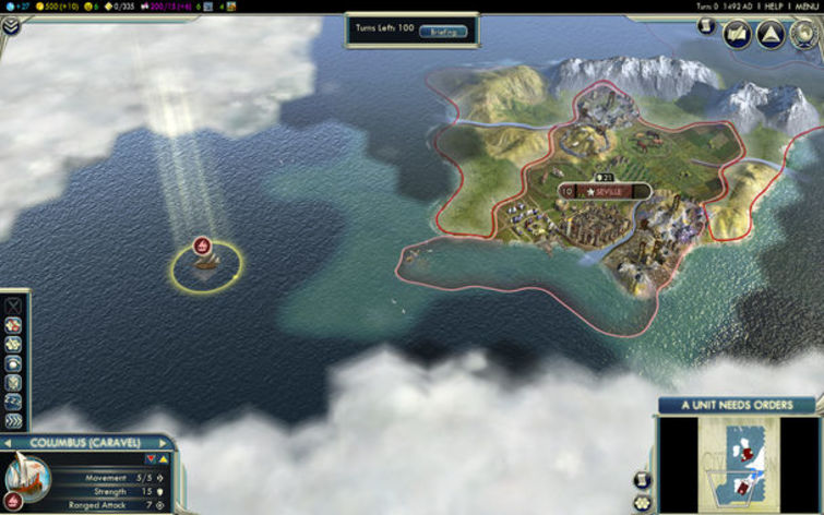 Screenshot 2 - Sid Meier's Civilization V: Spain and Inca
