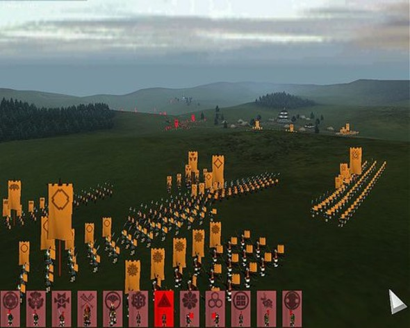 Screenshot 1 - Shogun: Total War Gold Edition