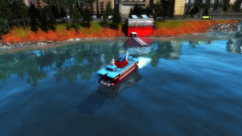 Screenshot 1 - Cities in Motion 2: Wending Waterbuses