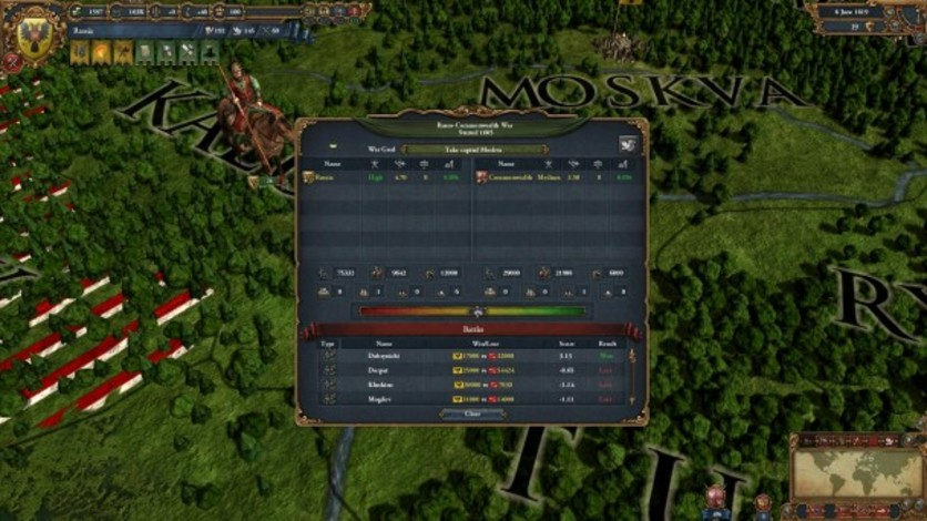 Screenshot 1 - Europa Universalis IV: Call-to-Arms Pack