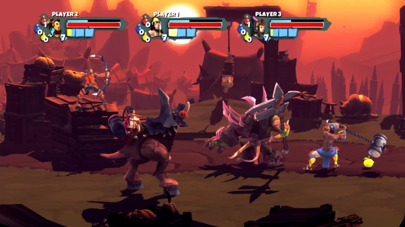 Screenshot 1 - Sacred Citadel